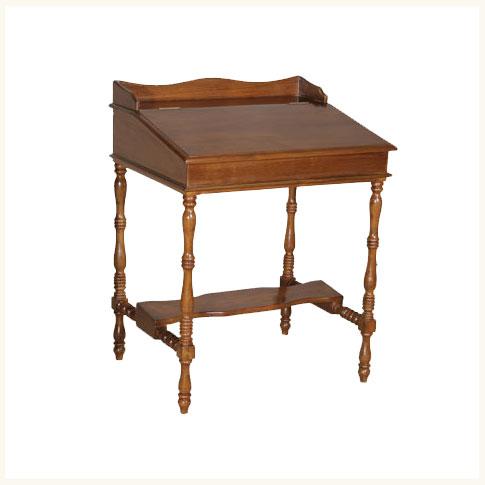 Davenport Colonial Deskbritish Colonial Burma Teak Desk