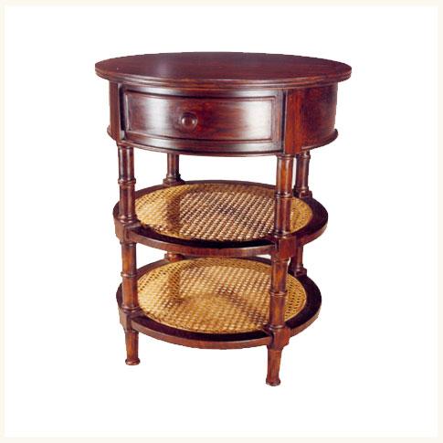 Shillong circular bedside tablecolonial teak table reproduction shillong circular bedside tablecolonial teak table reproduction bedroom nightstand watchthetrailerfo