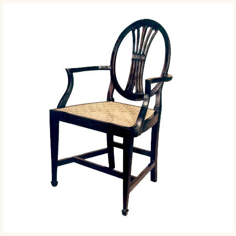 Ordinaire Calcutta Colonial Armchair,British ,Colonial ,Teak ,Dining ,Chair  ,Reproduction